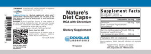 Nature's Diet Caps - 90 Capsules Default Category Douglas Labs
