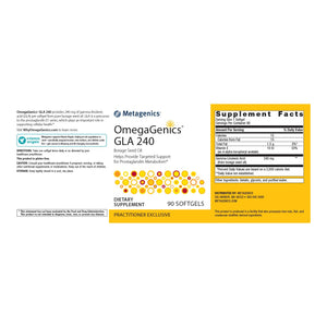 OmegaGenics GLA 240 - 90 Softgels