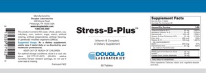 Stress-B-Plus™ - 90 Tablets Default Category Douglas Labs