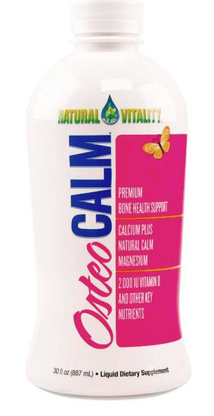 Osteo Calm Natural Vitality 30 OZ Organic Orange-Vanilla