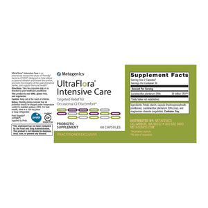 UltraFlora Intensive Care - 60 Capsules