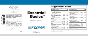 Essential Basics™ - 180 Capsules