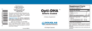 Opti-DHA™ Enteric-Coated - 60 Softgels Default Category Douglas Labs