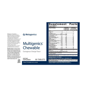 Multigenics Chewable - 90 Tablets