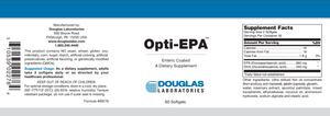 Opti-EPA ™ Enteric-Coated - 60 Softgels Default Category Douglas Labs