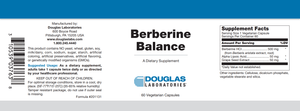 Berberine Balance - 60 Capsules Default Category Douglas Labs