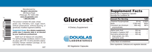Glucoset® - 60 Capsules Default Category Douglas Labs