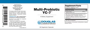 Multi-Probiotic ® YC-7 ™ - 60 Capsules Default Category Douglas Labs