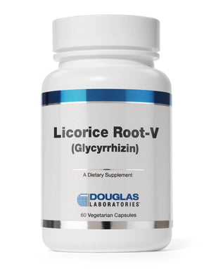Licorice Root-V (with Glycyrrhizin) - 60 Capsules