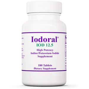 Iodoral® 12.5 mg Default Category Optimox 180 Tablets