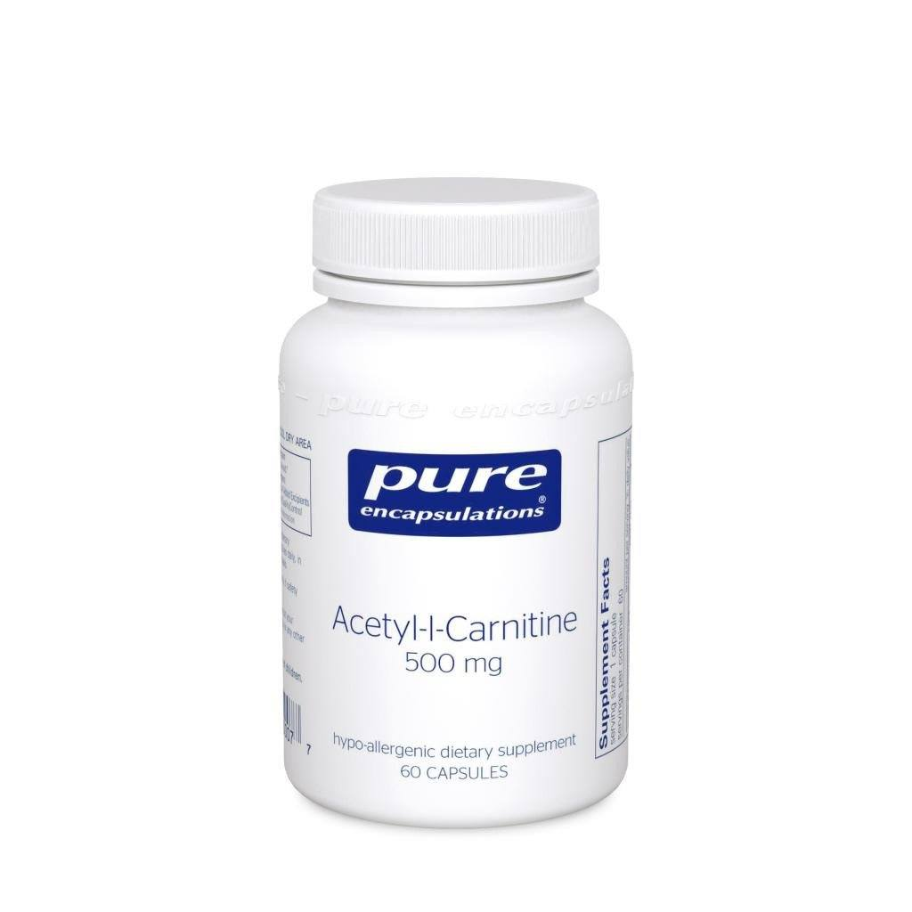 Acetyl-l-Carnitine 500 mg - 60 capsules