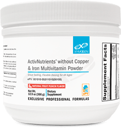 ActivNutrients® without Copper & Iron Multivitamin Powder - 60 Servings