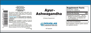 Ayur-Ashwaganda - 60 Capsules Default Category Douglas Labs