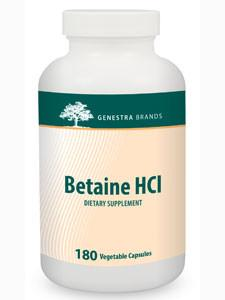 Betaine HCl - 180 Capsules