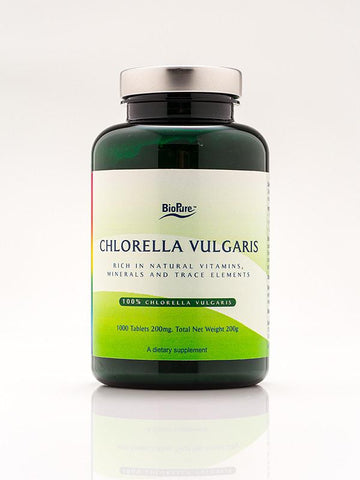 Chlorella Vulgaris - 1,000 tablets