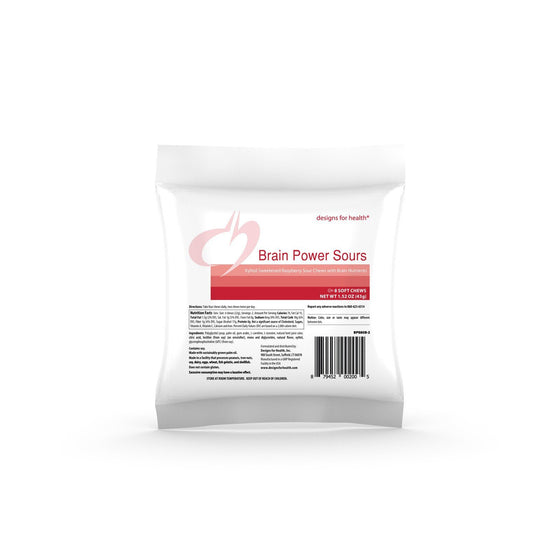 BrainPower Sours (Raspberry) - 10 packets