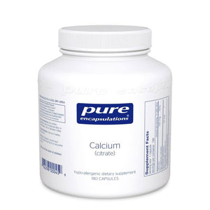 Calcium (citrate) - 180 Capsules Default Category Pure Encapsulations