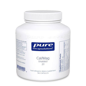 Calcium Magnesium (malate) 2:1 - 180 Capsules Default Category Pure Encapsulations