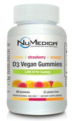 D3 Vegan Gummies - 60 gmy