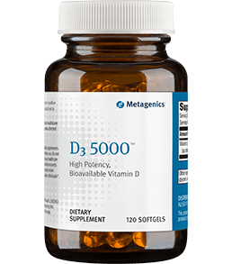 D3 5000 - 120 Softgels