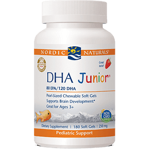 DHA Junior Strawberry - 180 Softgels