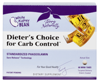 Terry Naturally Dieter's Choice For Carb Control - 60 Mini-Tablets