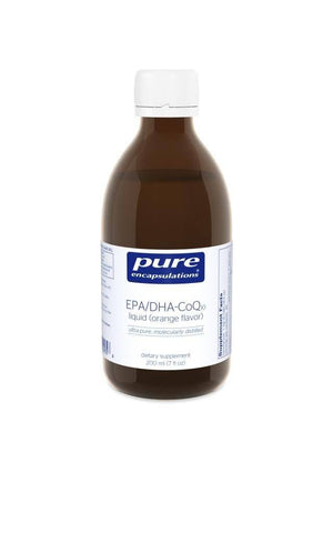 EPA/DHA w/CoQ10 liquid - 200 ml Default Category Pure Encapsulations