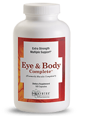 Eye & Body Complete (Macula Complete) - 180 Capsules