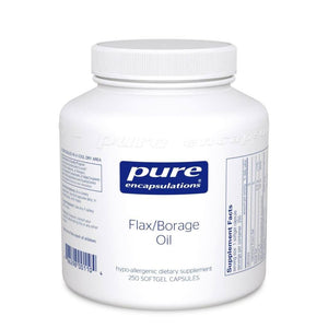 Flax/Borage Oil - 250 capsules Default Category Pure Encapsulations