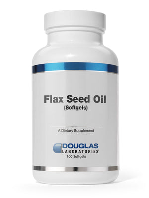 Flax Seed Oil - 100 Softgels Default Category Douglas Labs