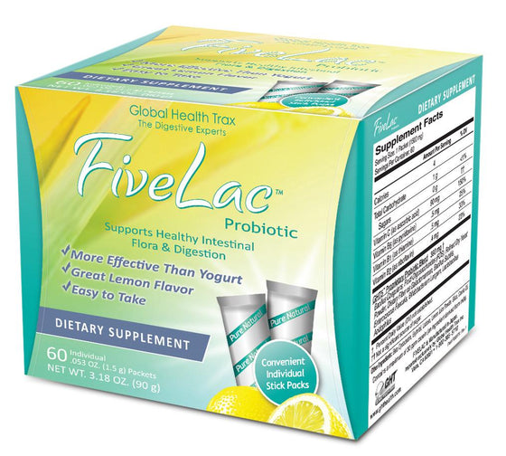FiveLac - 60 packets