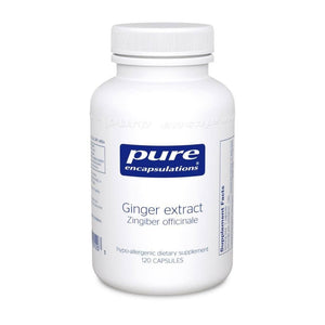Ginger Extract - 120 Capsules Default Category Pure Encapsulations