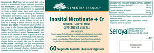 Inositol Nicotinate + Cr - 60 Capsules Default Category Genestra