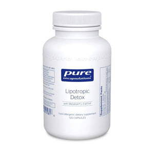 Lipotropic Detox - 120 capsules Default Category Pure Encapsulations