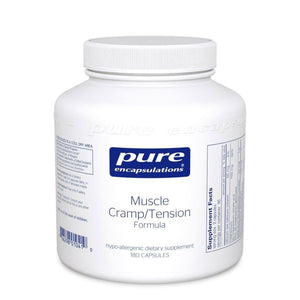 Muscle Cramp/Tension Formula Default Category Pure Encapsulations