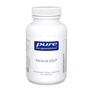 Mineral 650 - 180 capsules Default Category Pure Encapsulations