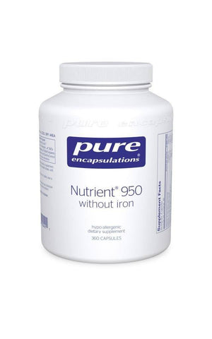 Nutrient 950 without Iron Default Category Pure Encapsulations