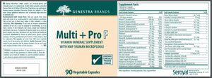 Multi+Pro F - 90 Capsules Default Category Genestra