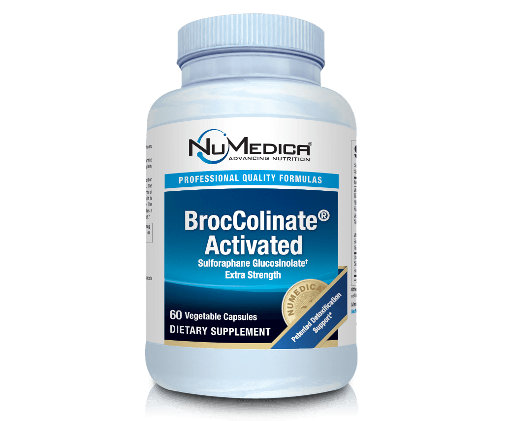 BrocColinate® Activated - 60 capsules