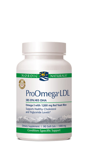 ProOmega LDL - 180 softgels Default Category Nordic Naturals