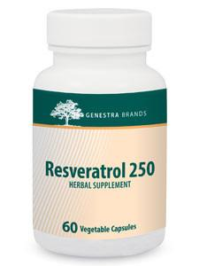 Resveratrol 250 - 60 Capsules Default Category Genestra
