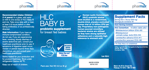 HLC Baby B - 0.2 oz Default Category Pharmax