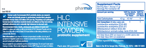 HLC Intensive Powder - 1 oz Default Category Pharmax