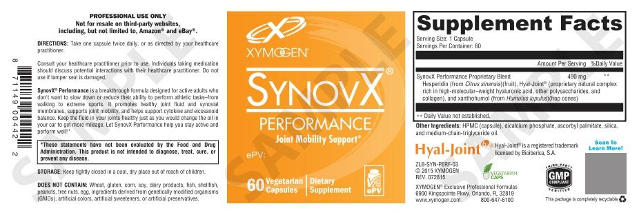 SynovX® Performance - 60 Capsules