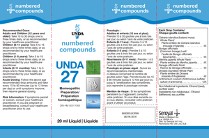 Unda #27 - 0.7 fl oz Default Category Unda