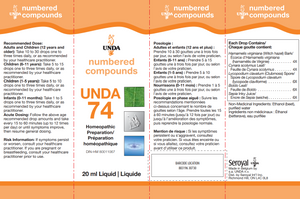 Unda #74 - 0.7 fl oz Default Category Unda