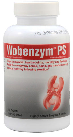 Wobenzym PS - Professional Strength Enteric Coated Tablets