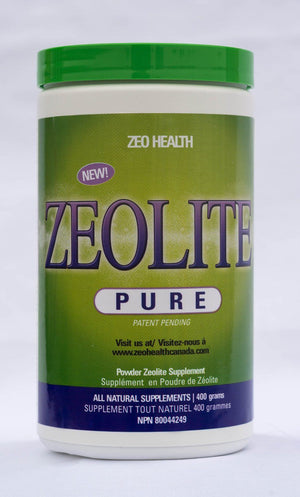 Zeolite Pure - 400 grams Default Category Zeo Health