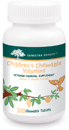 Children's Chewable Vitamins - 100 Tablets