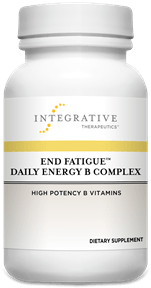 End Fatigue Daily Energy B Complex - 30 Capsules Default Category Integrative Therapeutics 30 Capsules